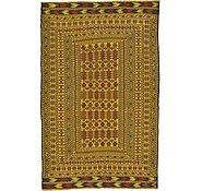 Link to 4' 4 x 6' 9 Kilim Afghan Rug