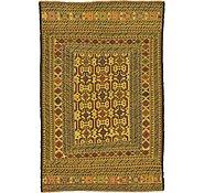 Link to 4' 4 x 6' 7 Kilim Afghan Rug