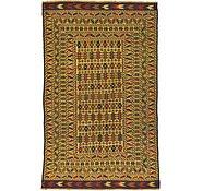 Link to 4' x 6' 8 Kilim Afghan Rug