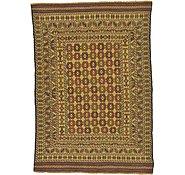 Link to 4' 3 x 6' 2 Kilim Afghan Rug