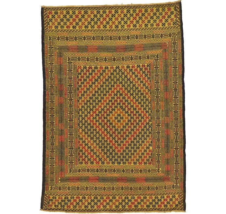 4' x 6' Kilim Afghan Rug