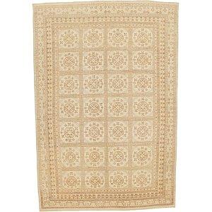 Unique Loom 13' x 19' 4 Khotan Ziegler Oriental...