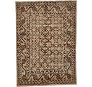 Link to 5' 7 x 7' 9 Khotan Ziegler Oriental Rug