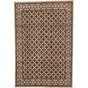 HandKnotted 6' 7 x 9' 8 Khotan Ziegler Oriental...