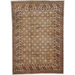 HandKnotted 6' 8 x 9' 6 Khotan Ziegler Oriental...