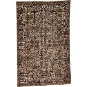 Unique Loom 5' 8 x 9' Khotan Ziegler Oriental...