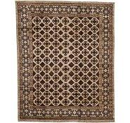 Link to 6' 6 x 8' Khotan Ziegler Oriental Rug