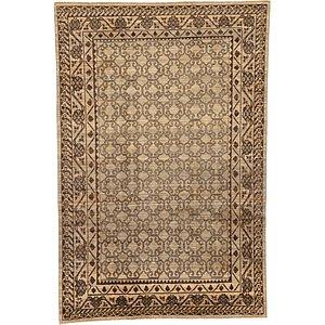 HandKnotted 6' 5 x 9' 7 Khotan Ziegler Oriental...