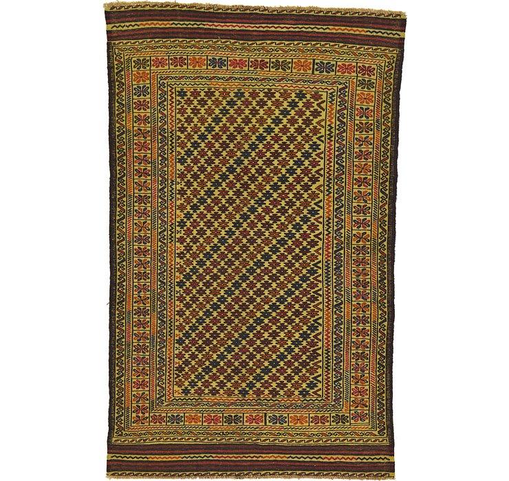 4' x 6' 5 Kilim Afghan Rug