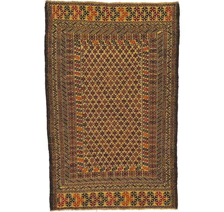 3' 9 x 6' Kilim Afghan Rug