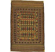 Link to 122cm x 183cm Kilim Afghan Rug