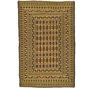 Link to 4' 2 x 6' 4 Kilim Afghan Rug