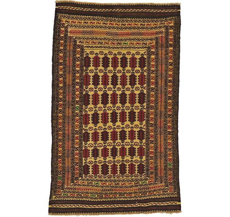 112cm x 183cm Kilim Afghan Rug