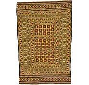 Link to 4' 4 x 6' 6 Kilim Afghan Rug