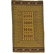 Link to 4' 4 x 6' 10 Kilim Afghan Rug