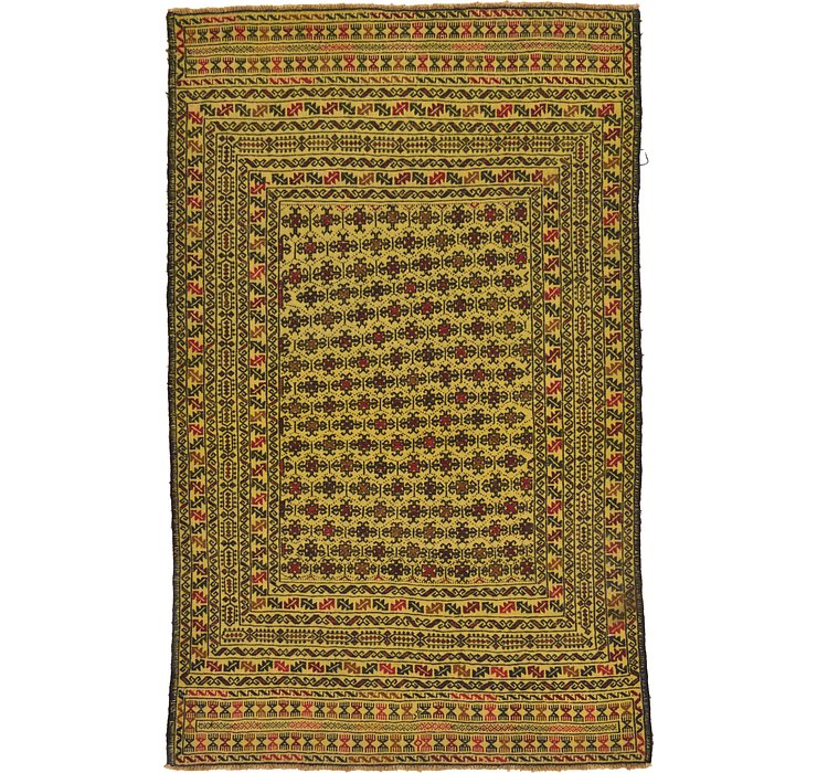 4' 2 x 6' 9 Kilim Afghan Rug