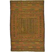 Link to 4' 3 x 6' 4 Kilim Afghan Rug