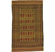 Link to 115cm x 188cm Kilim Afghan Rug