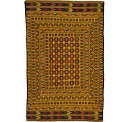 Link to 4' 3 x 6' 6 Kilim Afghan Rug