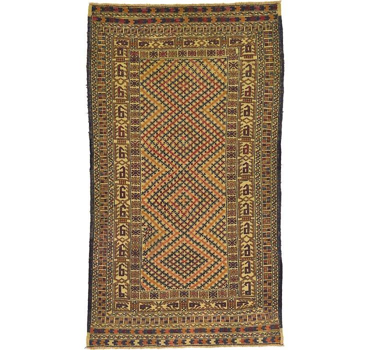 3' 10 x 6' 7 Kilim Afghan Rug
