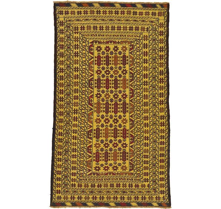 3' 6 x 6' 3 Kilim Afghan Rug
