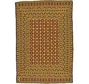 Link to 4' 5 x 6' 4 Kilim Afghan Rug