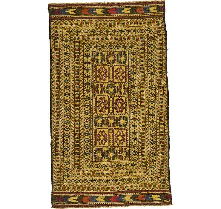 4' x 6' 10 Kilim Afghan Rug