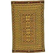 Link to 3' 9 x 6' Kilim Afghan Rug