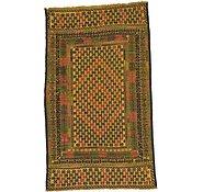 Link to 3' 5 x 5' 9 Kilim Afghan Rug