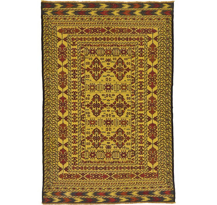 122cm x 190cm Kilim Afghan Rug
