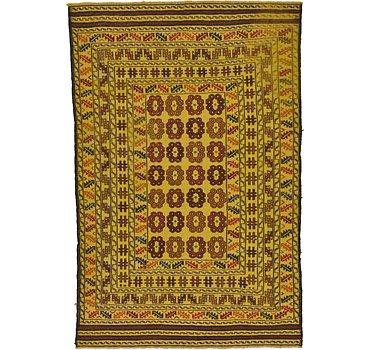 122x183 Kilim Afghan Rug