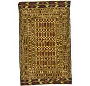 Link to 4' 3 x 6' 9 Kilim Afghan Rug
