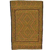 Link to 4' 5 x 6' 8 Kilim Afghan Rug