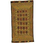 Link to 3' 8 x 6' 8 Kilim Afghan Rug