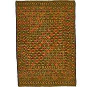 Link to 4' 4 x 6' 3 Kilim Afghan Rug