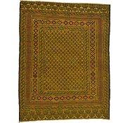 Link to 4' 8 x 6' Kilim Afghan Rug