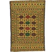 Link to 132cm x 188cm Kilim Afghan Rug