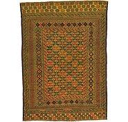 Link to 4' 4 x 6' Kilim Afghan Rug