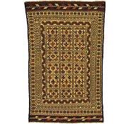 Link to 4' x 6' 4 Kilim Afghan Rug
