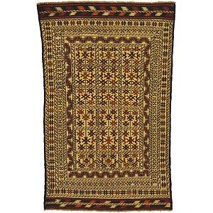 4' x 6' 4 Kilim Afghan Rug