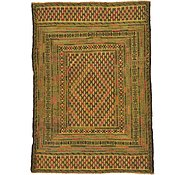 Link to 127cm x 183cm Kilim Afghan Rug