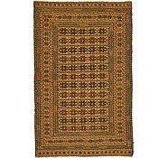 Link to 4' 2 x 6' 6 Kilim Afghan Rug