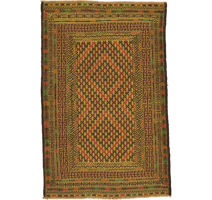 122cm x 183cm Kilim Afghan Rug