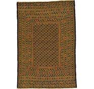Link to 4' 2 x 6' Kilim Afghan Rug