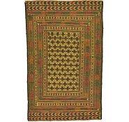 Link to 4' 3 x 6' 7 Kilim Afghan Rug