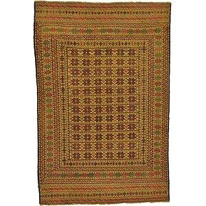 4' 4 x 6' 5 Kilim Afghan Rug