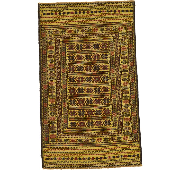 122cm x 198cm Kilim Afghan Rug