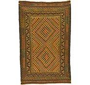 Link to 4' 2 x 6' 7 Kilim Afghan Rug