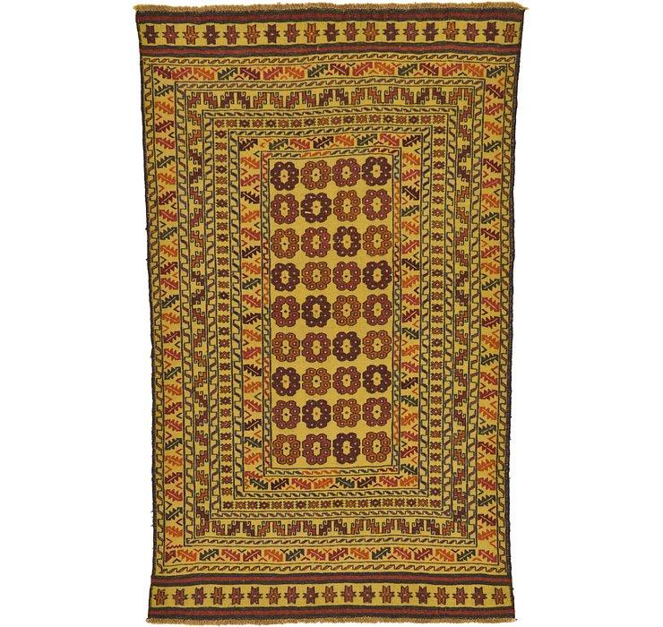 115cm x 188cm Kilim Afghan Rug