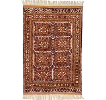 206x315 Afghan Rug